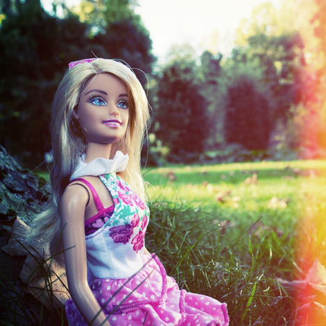 Barbie se prend en photo