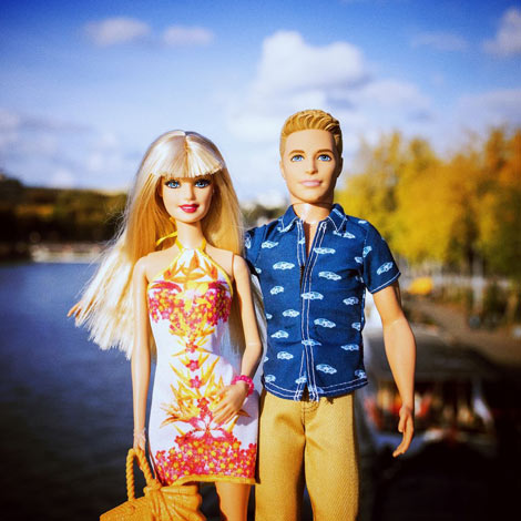Barbie et Ken : un couple normal