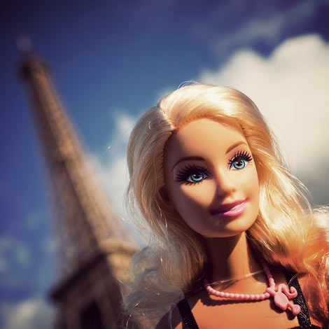 Barbie en vacances à Paris