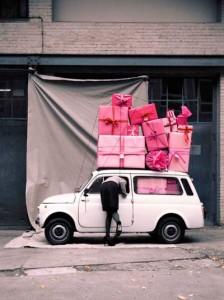 Une montagne de cadeaux