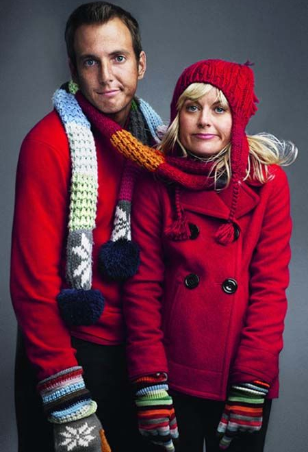 Will Arnett et Amy Poehler