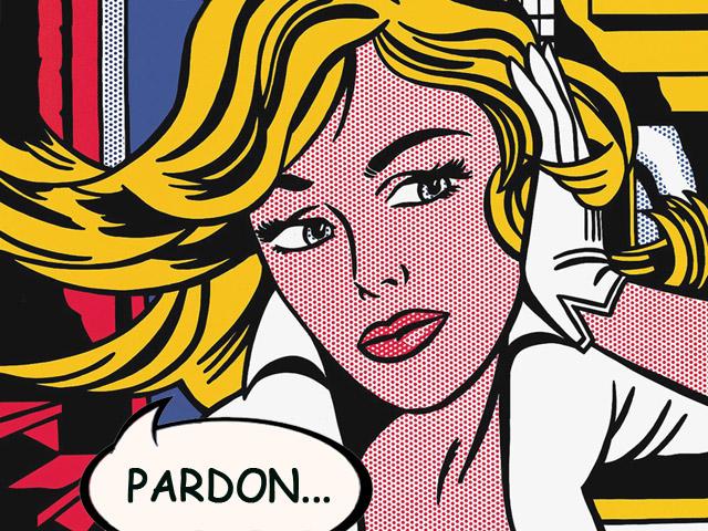 Roy Lichtenstein détourné