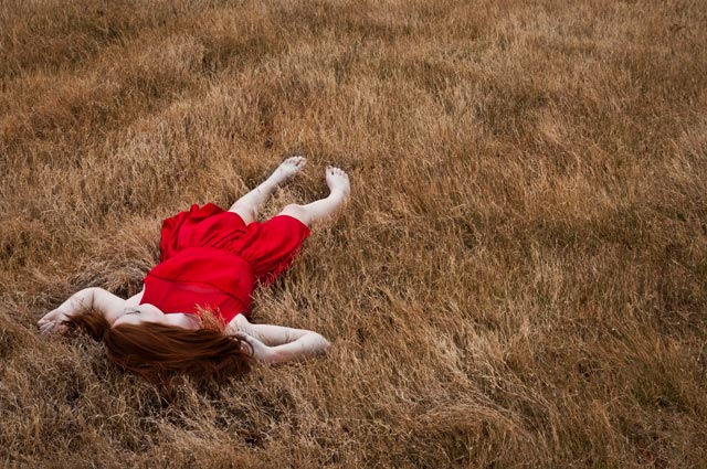 The Girl in the Red Dress Photo by Lindsay Hames