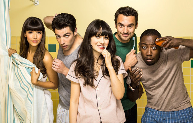 Colocation dans New girl