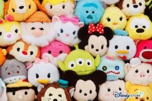 Les tsum-tsum Disney trop mignons