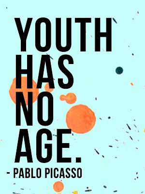 Youth has no age by Picasso