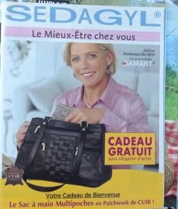 Catalogue Sedagyl pour les vieux agiles