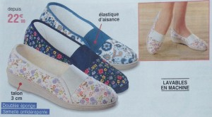 chaussures senior tendance