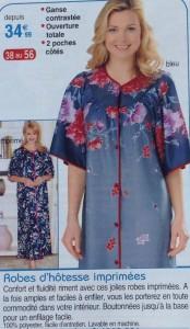robe imprimée florale