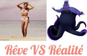 Ursula Andress versus Ursula de La petite sirène