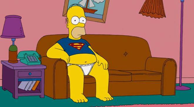 Homer Simpson prince charmant