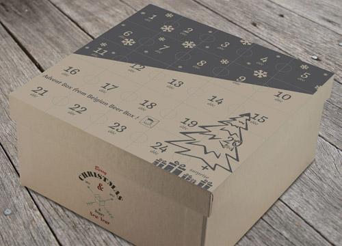 Le calendrier de l'avent Belgian beer box