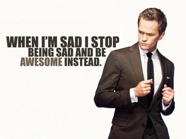 Avoir confiance en soi selon Barney Stinson