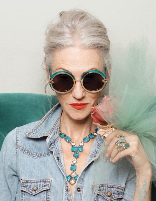Une vieille blogueuse mode
