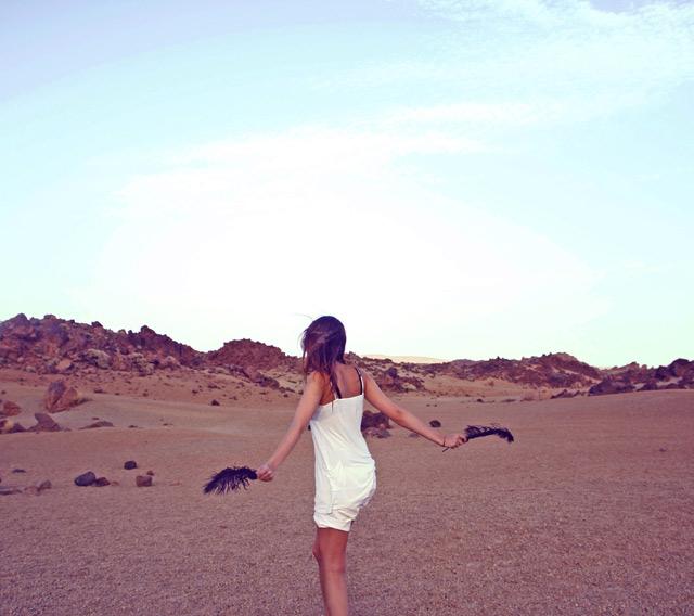 Danser dans le désert