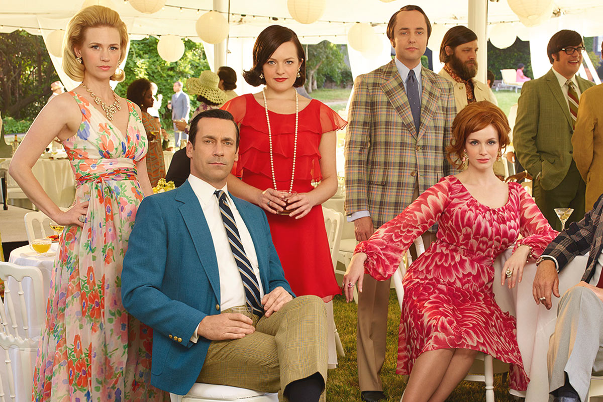 La mode du vintage dans Mad men