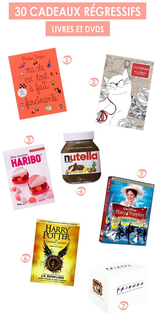 7 idées de cadeaux livres et DVDs pour femme de 30 ans