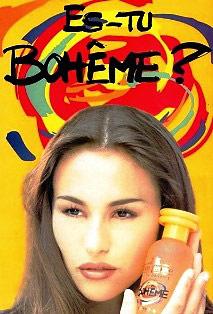 Bohème, parfum culte de eau jeune