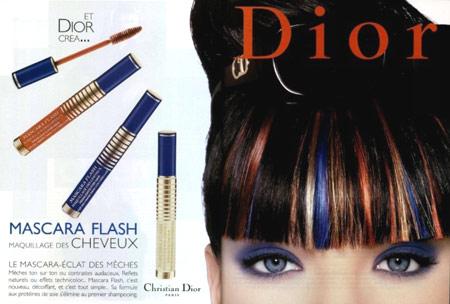 mascara pour cheveux Dior