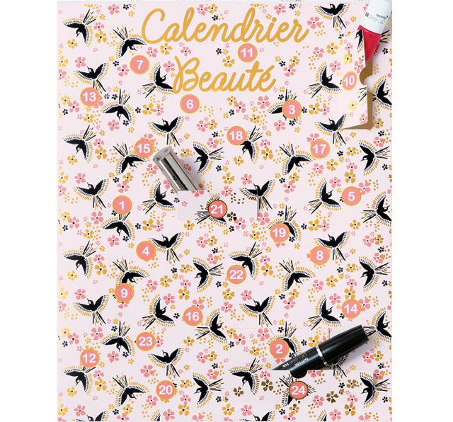 Calendrier De Lavent Fille 10 Ans.Monoprix Calendrier De L Avent 2016 Adulte Beaute Cadeau