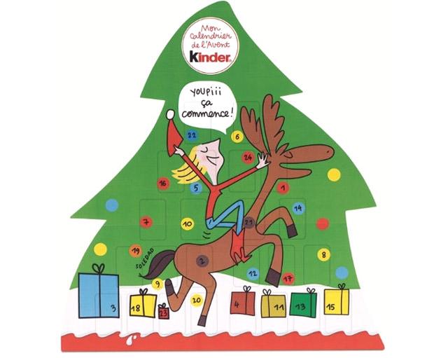 Calendrier De Lavent 2019 Kinder.Kinder Calendrier De L Avent 2016 Adulte Chocolats Cadeau