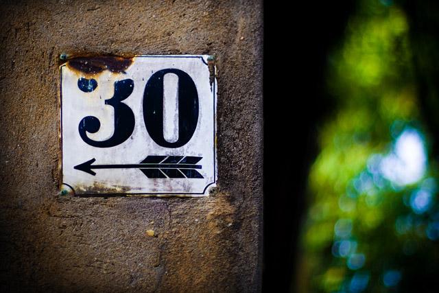 Fêter ses 30 ans en 2017