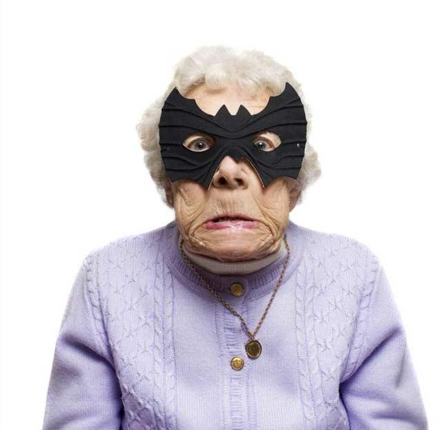 Grand-mère marrante