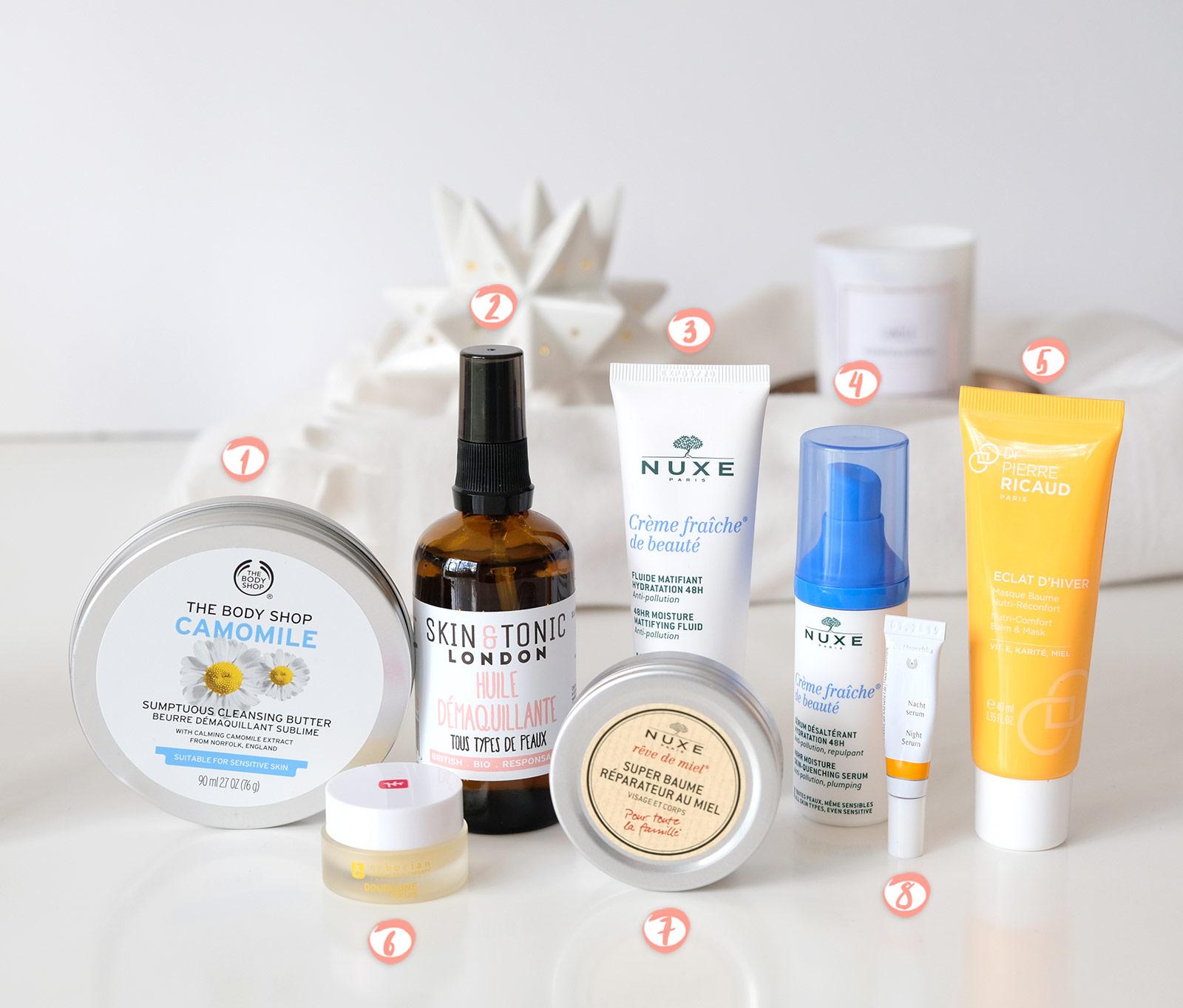 Routine beauté soins du visage pour femme de 30 ans en hiver