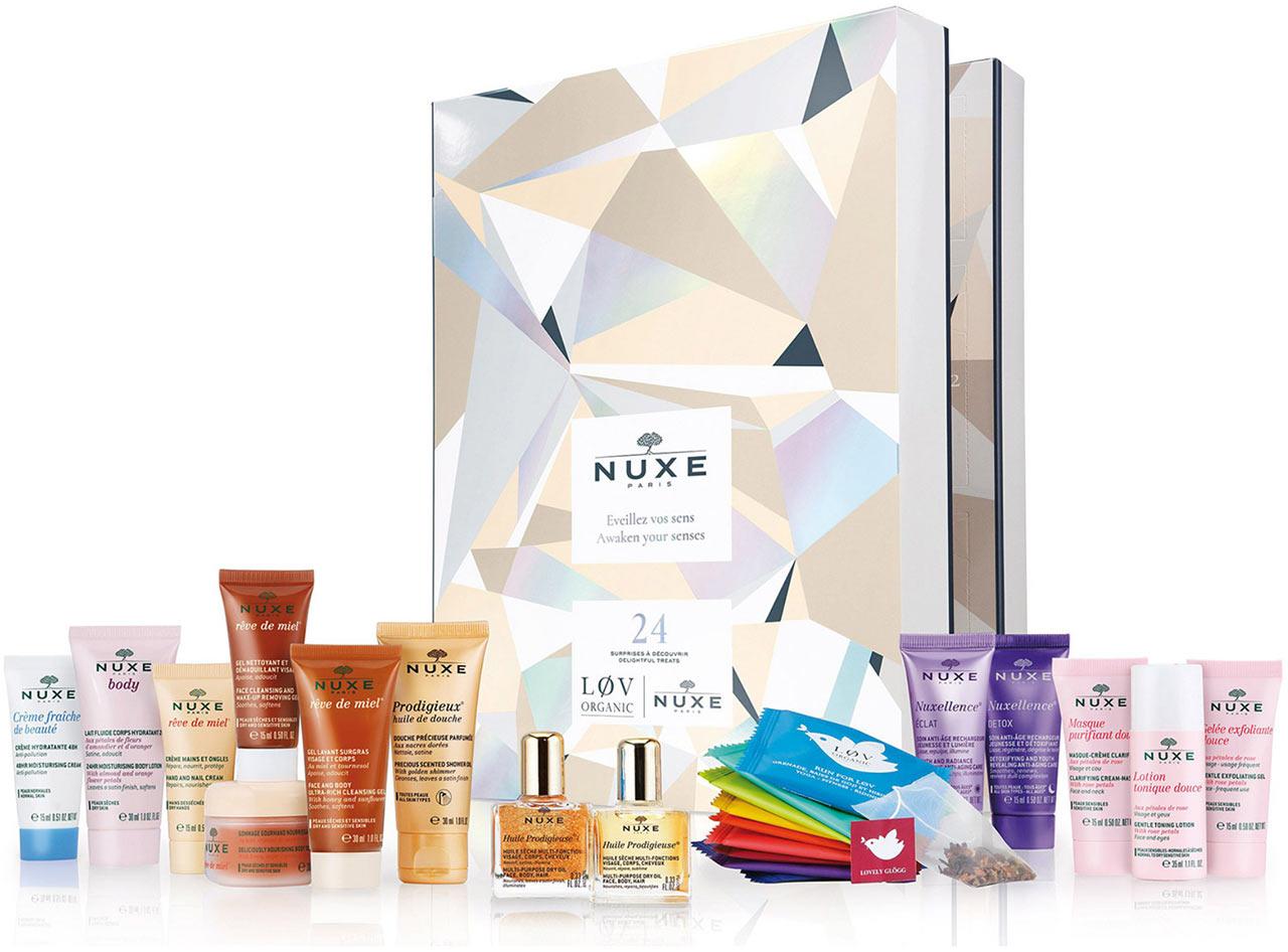 Calendrier de l'avent pour adulte 2018 Nuxe, un calendrier plein de cadeaux beauté