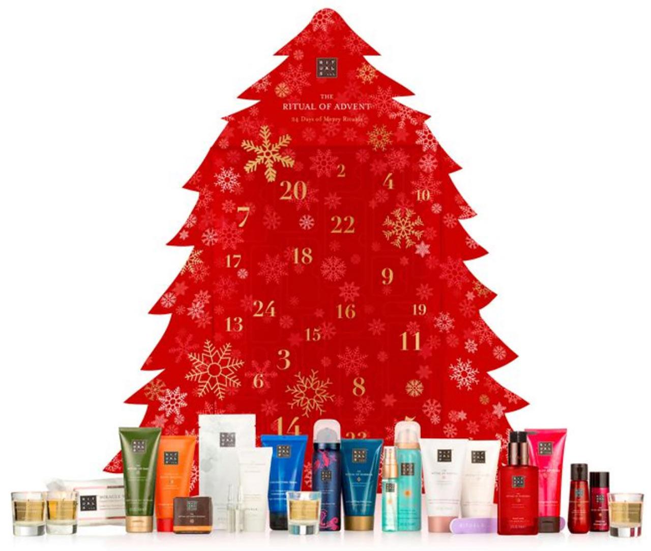Calendrier de l'avent pour adulte Rituals 2018, un calendrier plein de cadeaux beauté