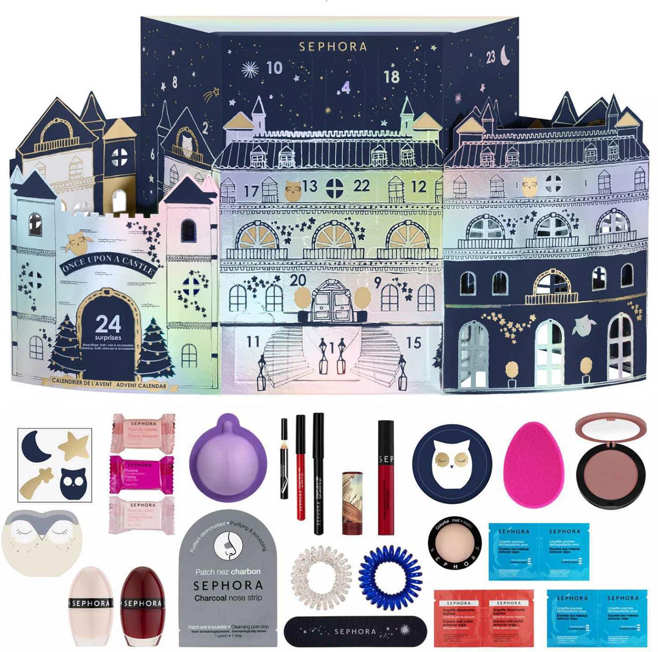 Calendrier de l'avent pour adulte 2018 Sephora, un calendrier plein de cadeaux beauté