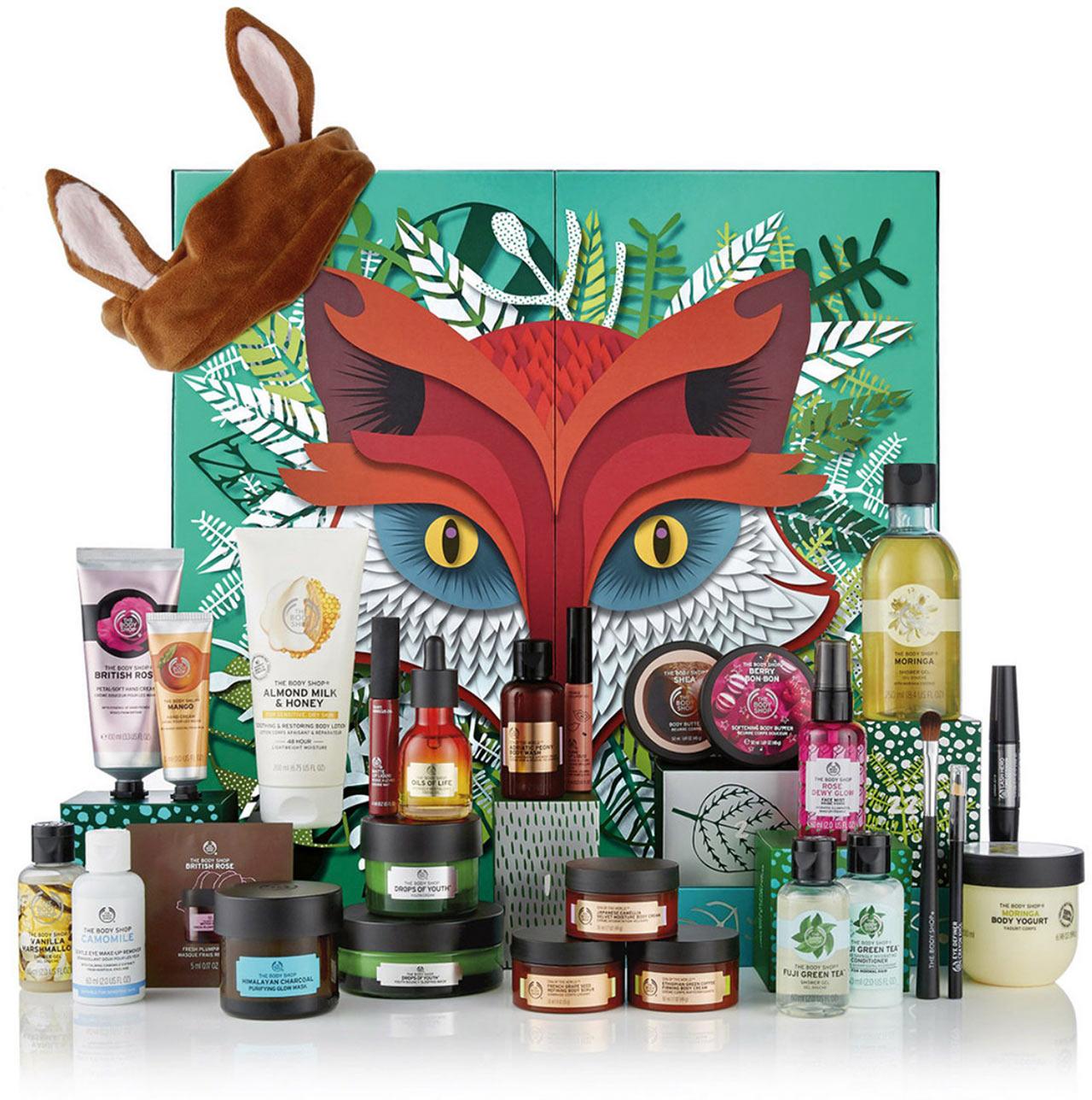 Calendrier de l'avent The Body shop ultime 2018 : un calendrier de l'avent beauté pour adultes rempli de petits cadeaux pour femme