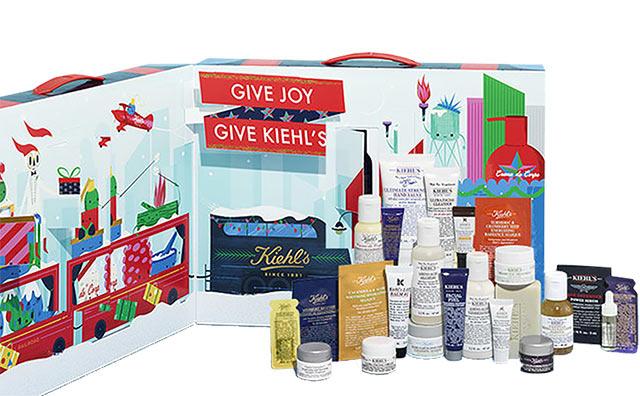 Calendrier de l'avent pour adulte 2018 Kiehl's, un calendrier plein de cadeaux beauté