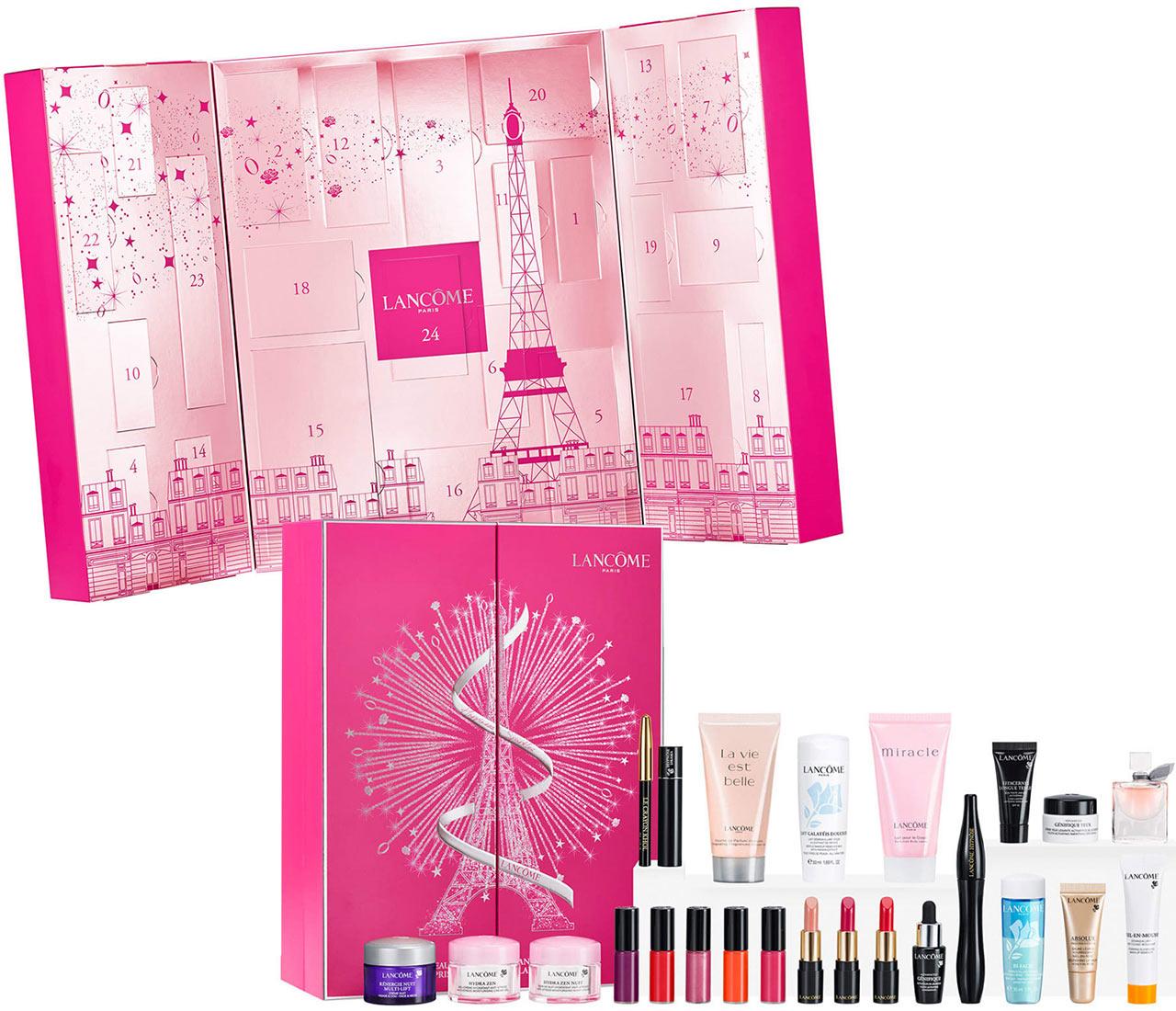 Calendrier de l'avent Lancôme 2018 : un calendrier de l'avent beauté pour adultes rempli de petits cadeaux pour femme