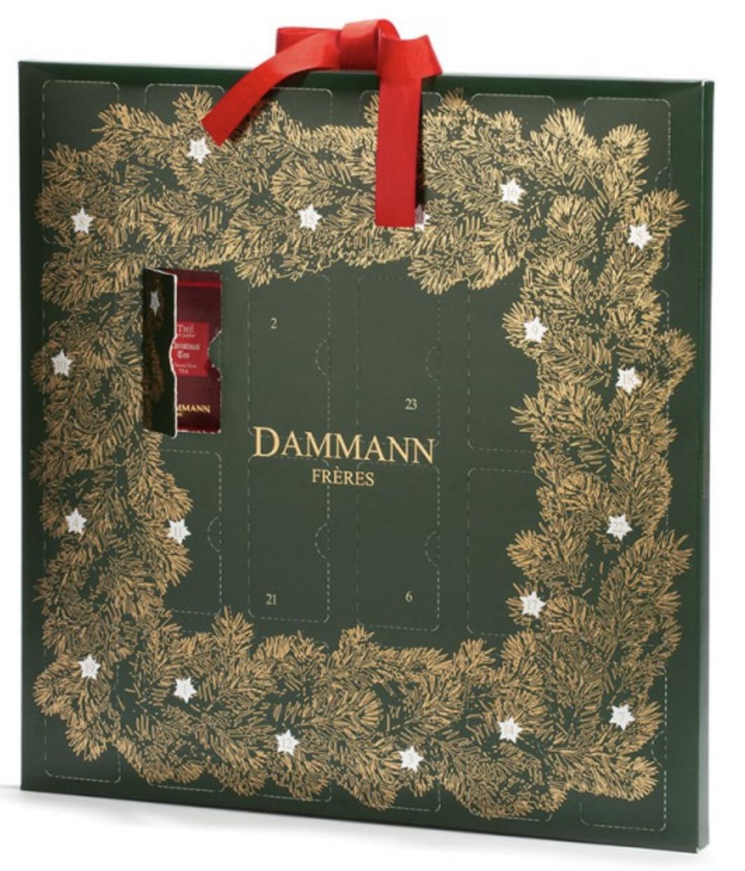 Calendrier de l'avent Dammann 2018 : un calendrier de l'avent pour adultes rempli de thé et infusions
