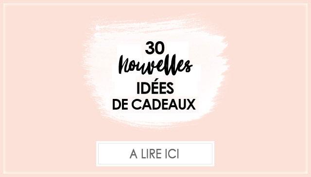30 idées de cadeaux pour femme de 30 ans