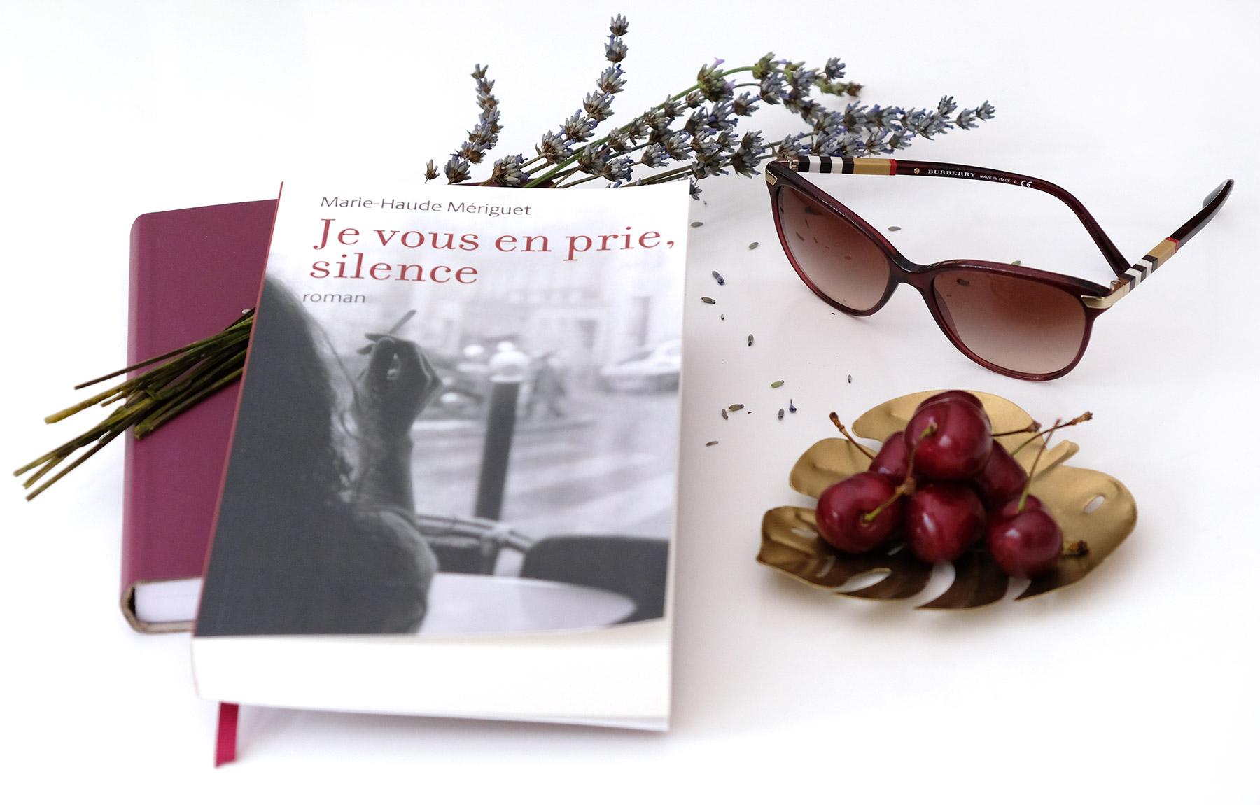 Je vous en prie, silence, premier roman auto-édité de Marie-Haude Mériguet