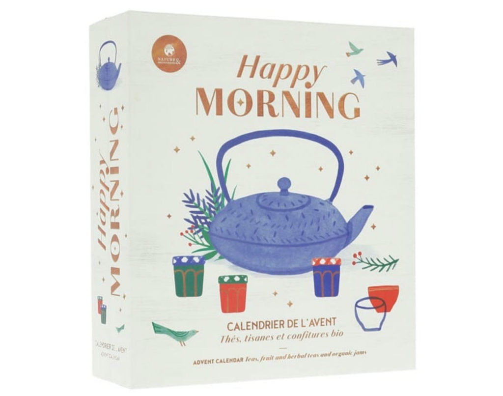 le calendrier de l'avent 2019 Happy morning de Nature et découvertes