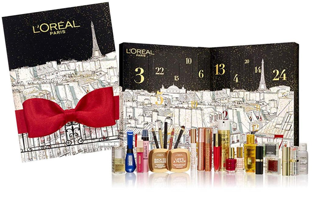 le calendrier de l'avent 2019 de L'Oréal Paris