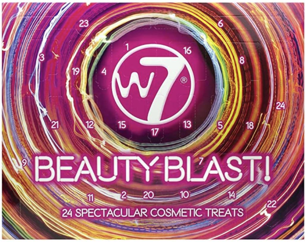 Calendrier de l'avent beauté W7 2020 pour femme adulte qui aime la beauté