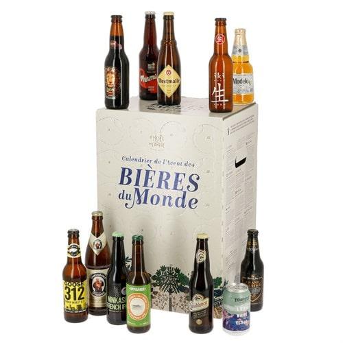 Calendrier de l'avent 2020 bières du monde par Nature et découvertes pour hommes et femmes