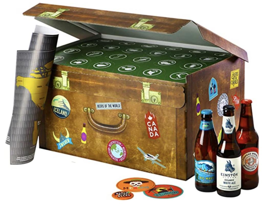 Calendrier de l'avent 2020 bières du monde pour hommes et femmes qui aiment l'alcool