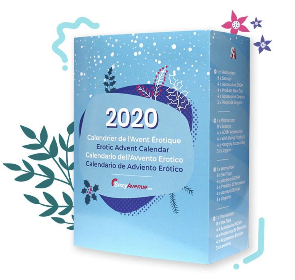 Le calendrier de l'avent 2020 de Sexy avenue pour hommes et femmes