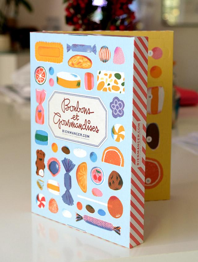 Calendrier de l'avent Bonbons et gourmandises 2020 pour adultes et grands enfants