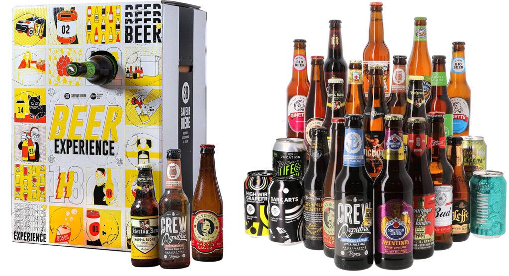 Calendrier de l'avent 2021 bières du monde pour hommes et femmes qui aiment l'alcool